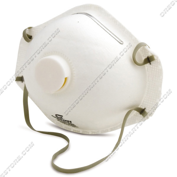 Mask Respirator With Vent / 42-161 / BACKORDERED NO STOCK
