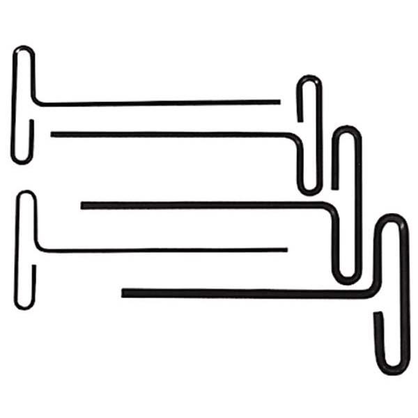 "6"" Arm T-Handle Allen Wrench Set, QTY.5 / 42-480-0"