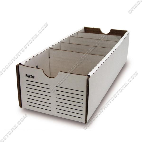 """Parts Box - Cardboard 4"""" x 12"""", QTY. 50 / F00-230"""