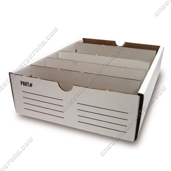 """Parts Box - Cardboard 8"""" x 12"""", QTY. 30 / F00-231"""