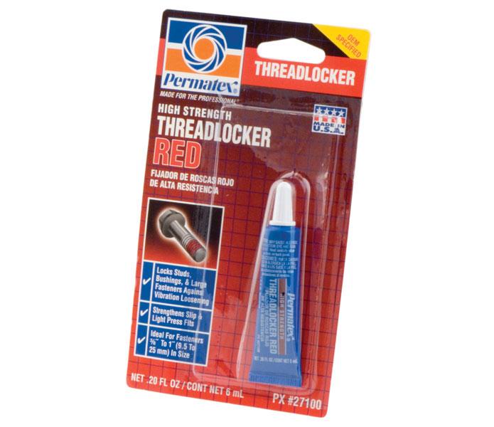 Universal Permatex Threadlocker Red - 271, 6 ml / F27100