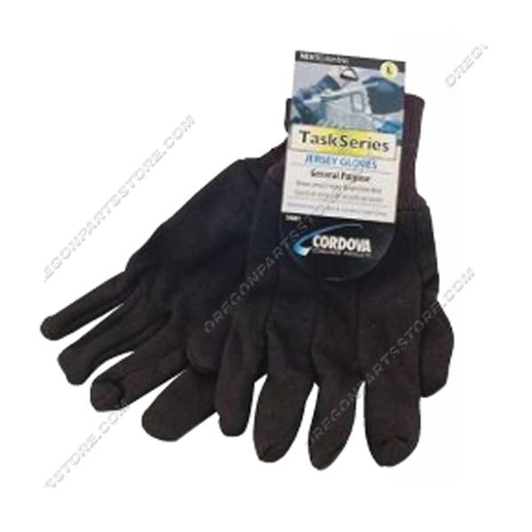 Cordova Cotton Jersey Knit Wrist Gloves, QTY.12 / F14001